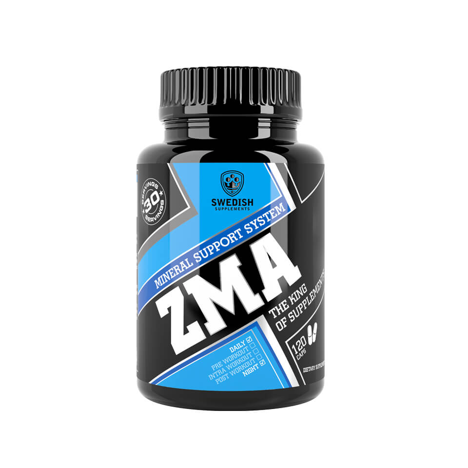 Swedish Supplements ZMA 120 kapslar - Swedish Supplements