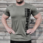 MM Hardcore T-shirt - Army Green V2