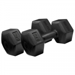 Iron Gym 6kg x 2 Fixed Hex Dumbbell