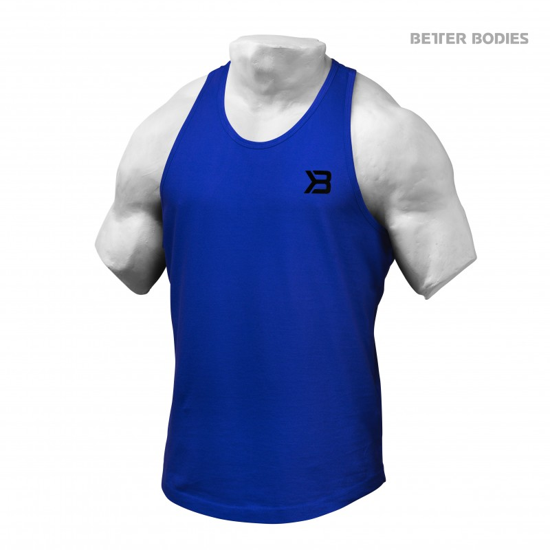 Better Bodies Essential T-Back M Strong Blue