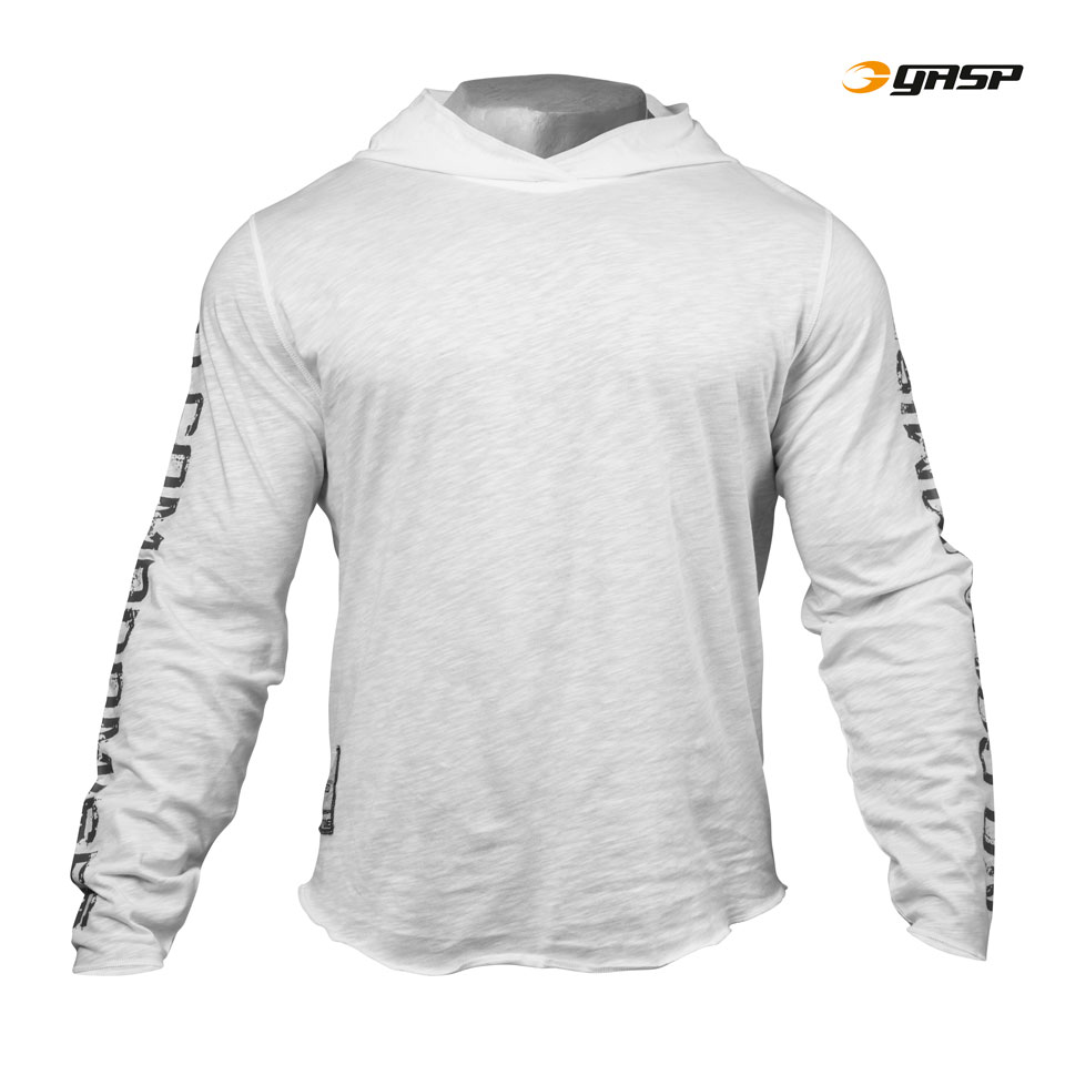 Gasp No Compromise Hood White L