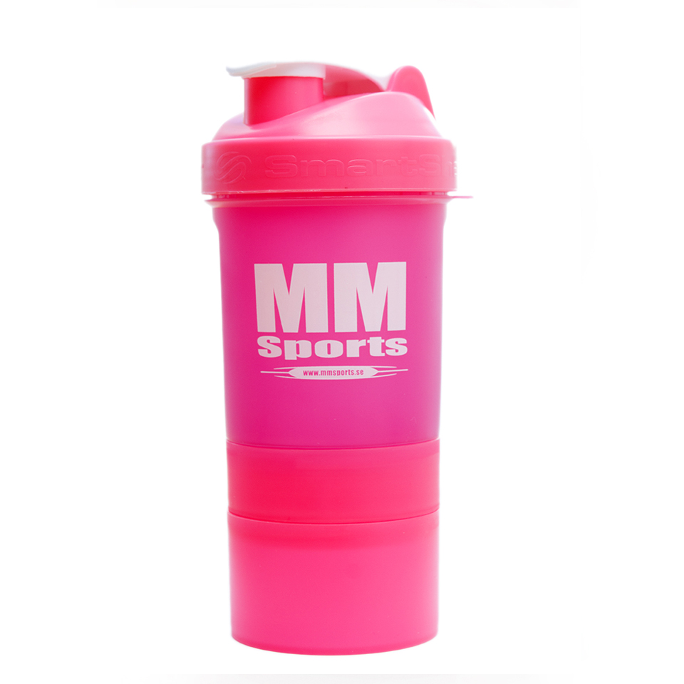 Shaker – MM Sports SmartShake Original, 600ml, Pink - Träningstillbehör - MM Sports