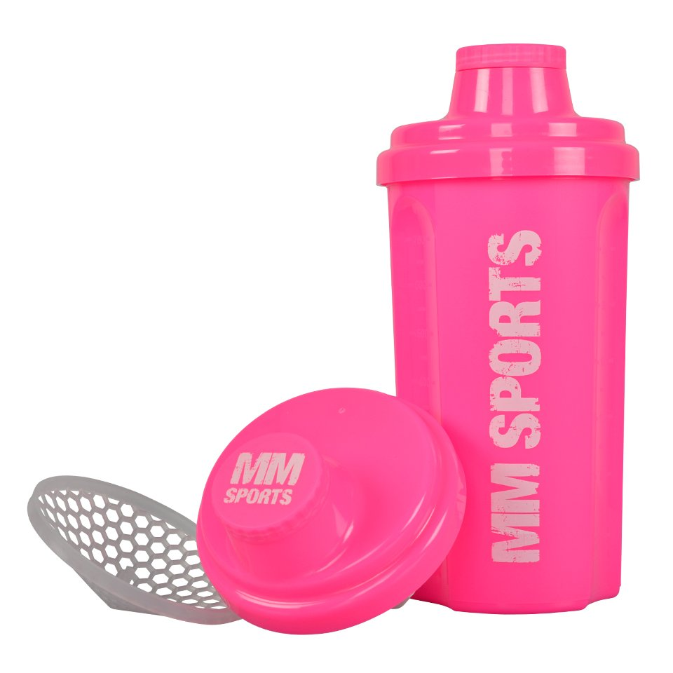 MM Sports Hardcore Shaker, 700 ml, Pink - Träningstillbehör - MM Sports