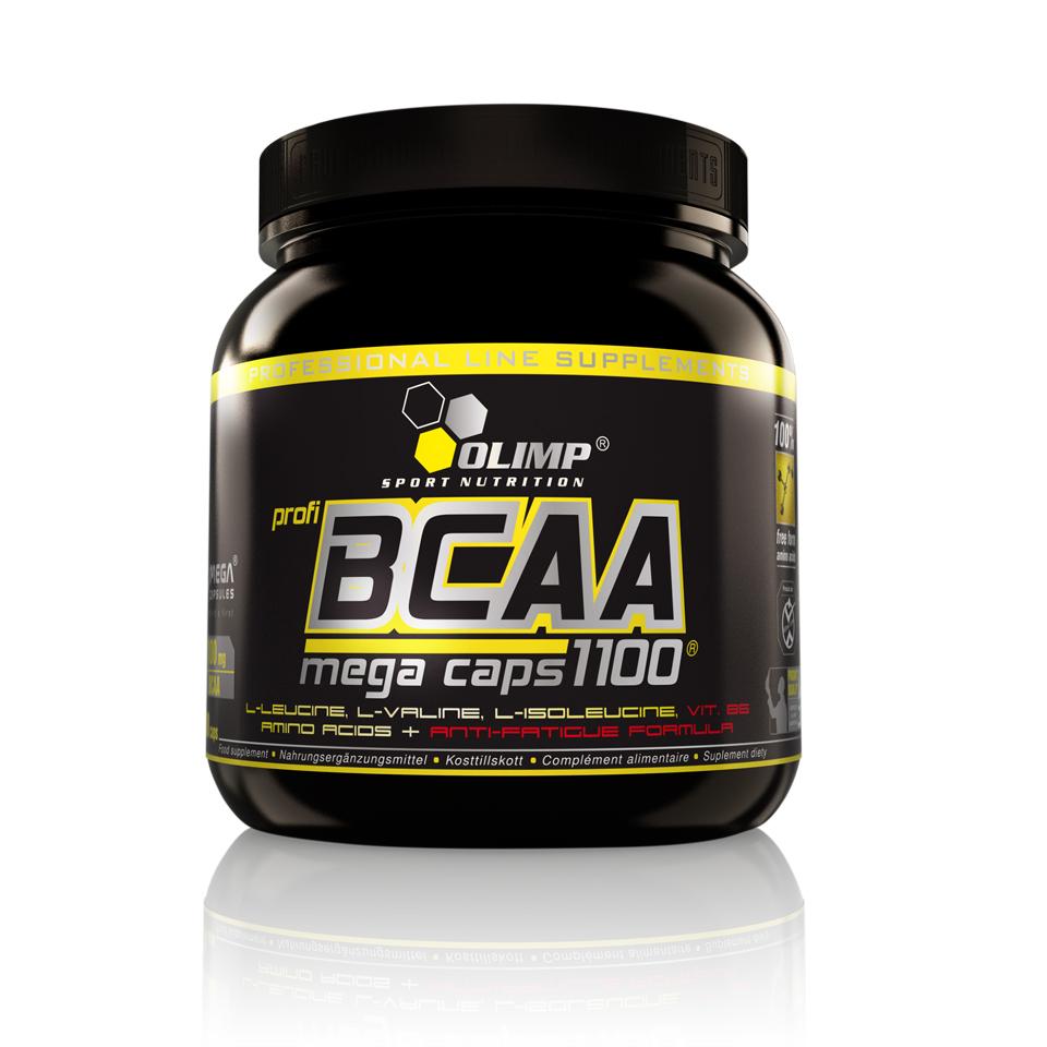 Olimp BCAA Mega Caps 300 kapslar - Olimp