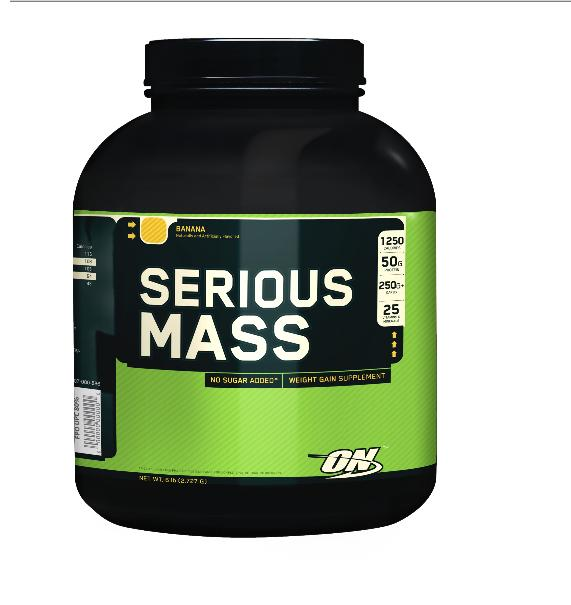 Optimum Nutrition Serious Mass Strawberry 2,7 kg - Optimum Nutrition