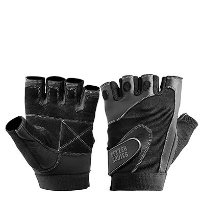 Better Bodies Pro Lifting Gloves Black L - Better Bodies