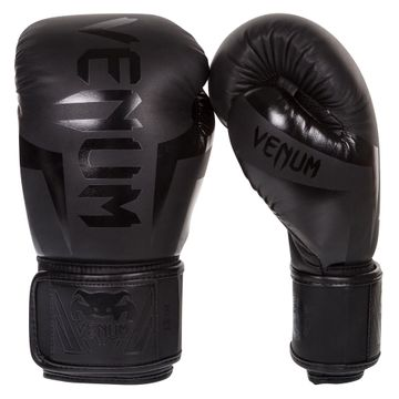 Venum Elite Boxing Gloves Black