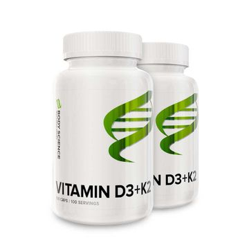Vitamin D3+K2 Storpack 200 kapslar