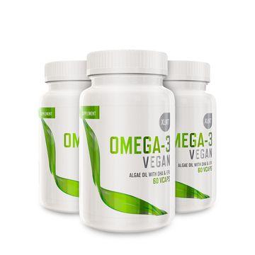 3 st Vegansk Omega-3
