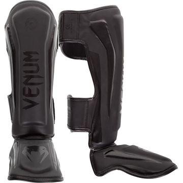 Venum Elite Standup Shinguards, Matte/Black