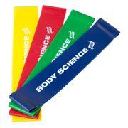 Short Power Resistance Bands 4-pack