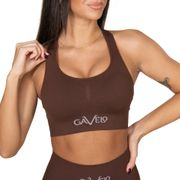 Gavelo Booster Sports-bra, Chicory Coffe