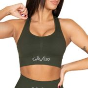 Gavelo Booster Sports-bra, Forrest Green