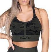 Gavelo Seamless Sports Bra Camo