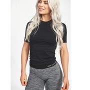 Seamless Carol T-shirt, Black