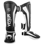 Venum Elite Standup Shinguards, Black/White