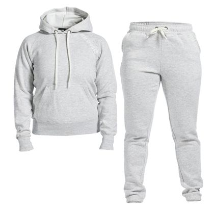 Soft Wear Set Wmn, Light Grey Melange