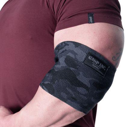 Gasp HD Elbow Sleeve, Dark Camo