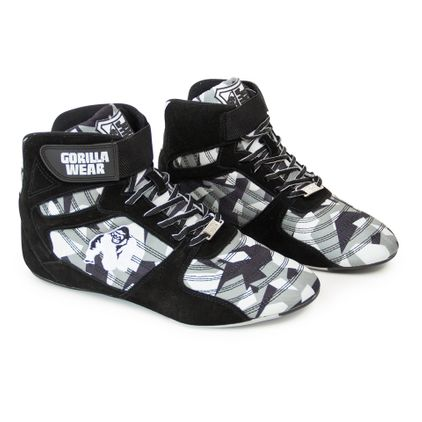 Gorilla Wear Perry High Tops Pro, Black/Grey Camo