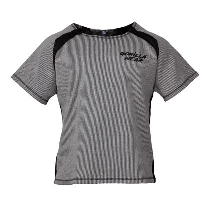 Gorilla Wear Augustine Old School Work Out Top, Grey