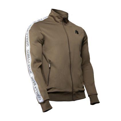 Gorilla Wear Wellington Track Jacket, Olive Green