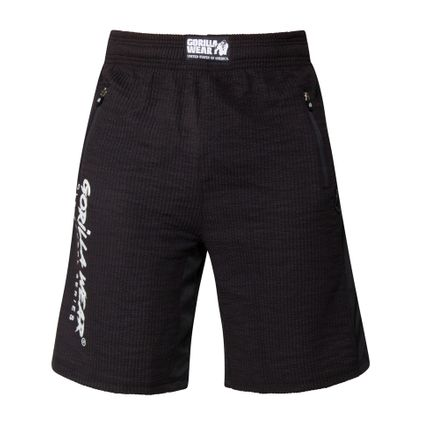 Gorilla Wear Augustine Old School Shorts, Black
