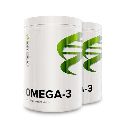 2 st Omega-3 300 kapslar