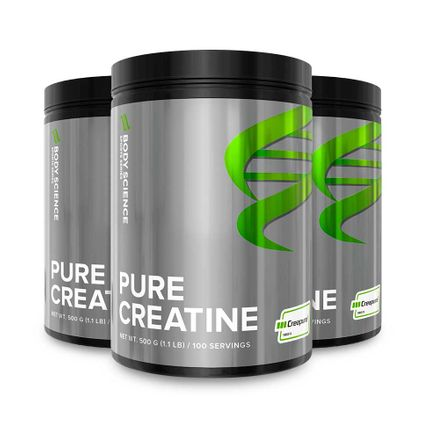 Pure Creatine Storpack 3 st