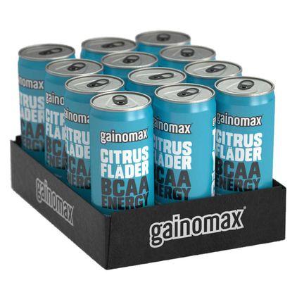 Gainomax BCAA Energy Drink Flak 12-pack