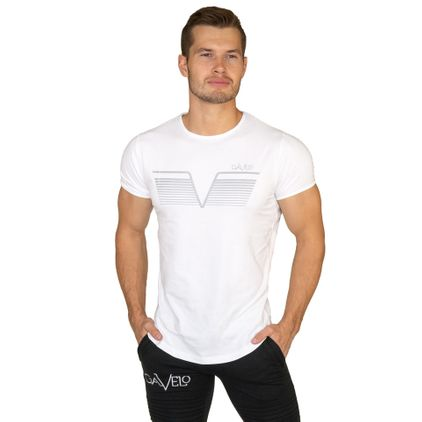 Gavelo Sports Tee White