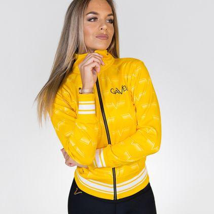 Gavelo Track Jacket Wmn, Lemon