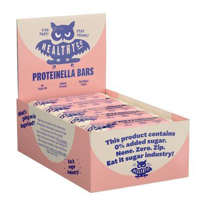 HealthyCo Proteinella Bar Hel låda 20-pack