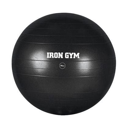 Iron Gym Exercise Ball 75cm Inc. Pump