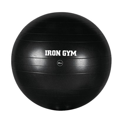 Iron Gym Exercise Ball 65cm Inc. Pump