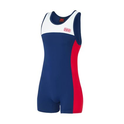 SBD Singlet, Red/Blue/White