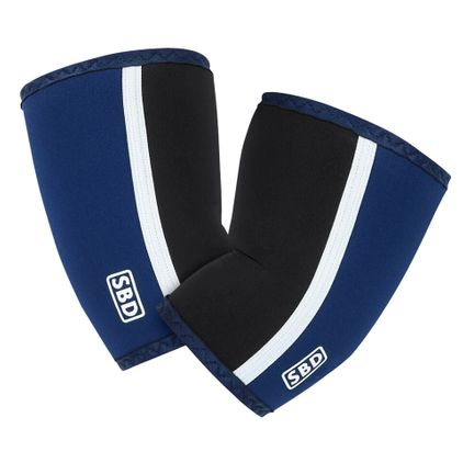 SBD Elbow Sleeves, Blue/Black/White