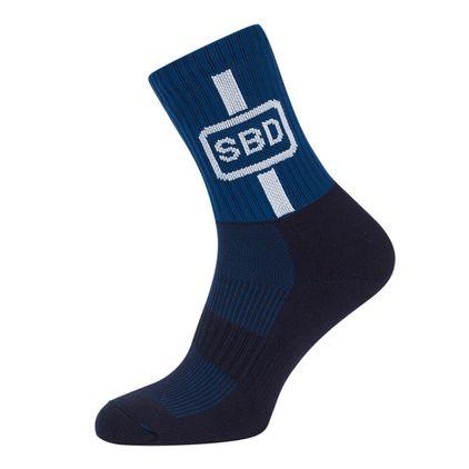 SBD Sport Socks, Blue/White