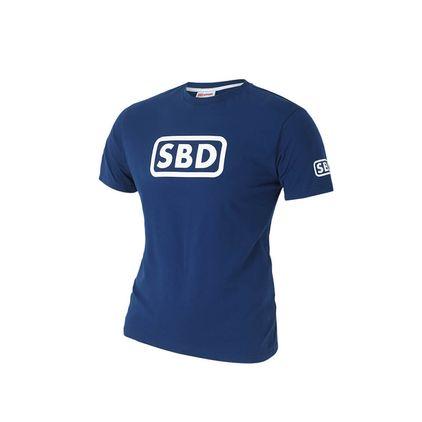 SBD T-Shirt Men's, Blue/White