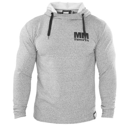 MM Hardcore Hoodie, Light Grey/Black