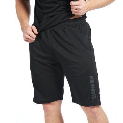 Carlos Mesh Shorts Black