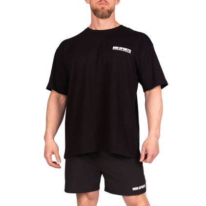 Oversize Hardcore T-Shirt Black/White