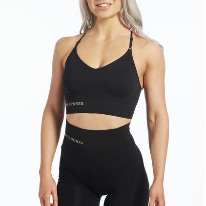 Seamless Carol Sport-BH, Black