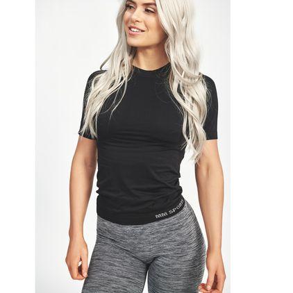 Seamless Carol T-shirt, Black