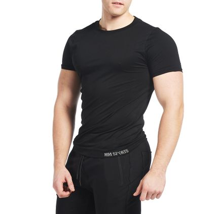 Seamless Colin T-shirt, Black