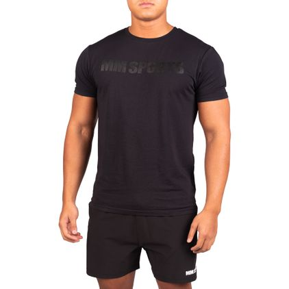 Gym T-shirt Ed, Black