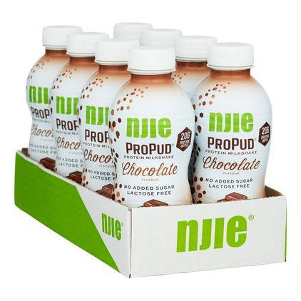 8 st NJIE ProPud Protein Milkshake