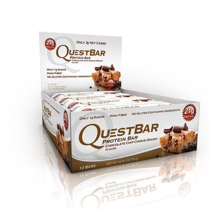 Quest Bars, 12st hel låda