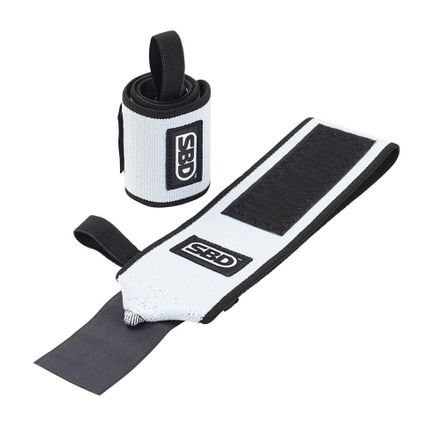 SBD Wrist Wraps, Black/White