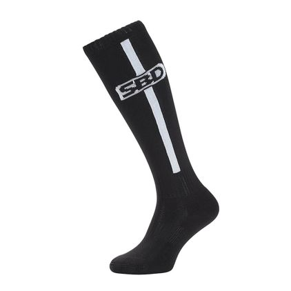 SBD Deadlift Socks, Black/White