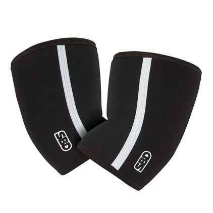 SBD Elbow Sleeves, Black/White